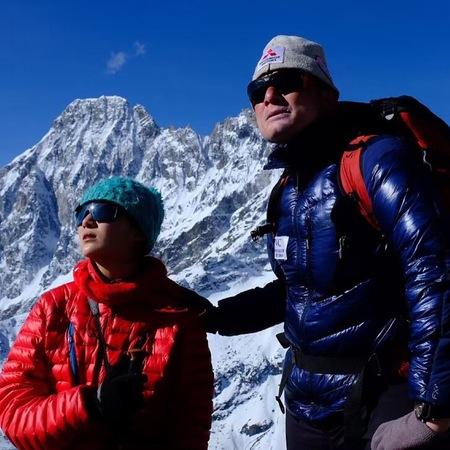 2019年4月 ネパール・ゴーキョピーク登頂(5,350m)